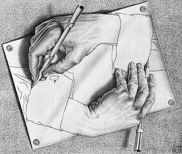 Identité personnelle / identité humaine - Page 6 Escher2