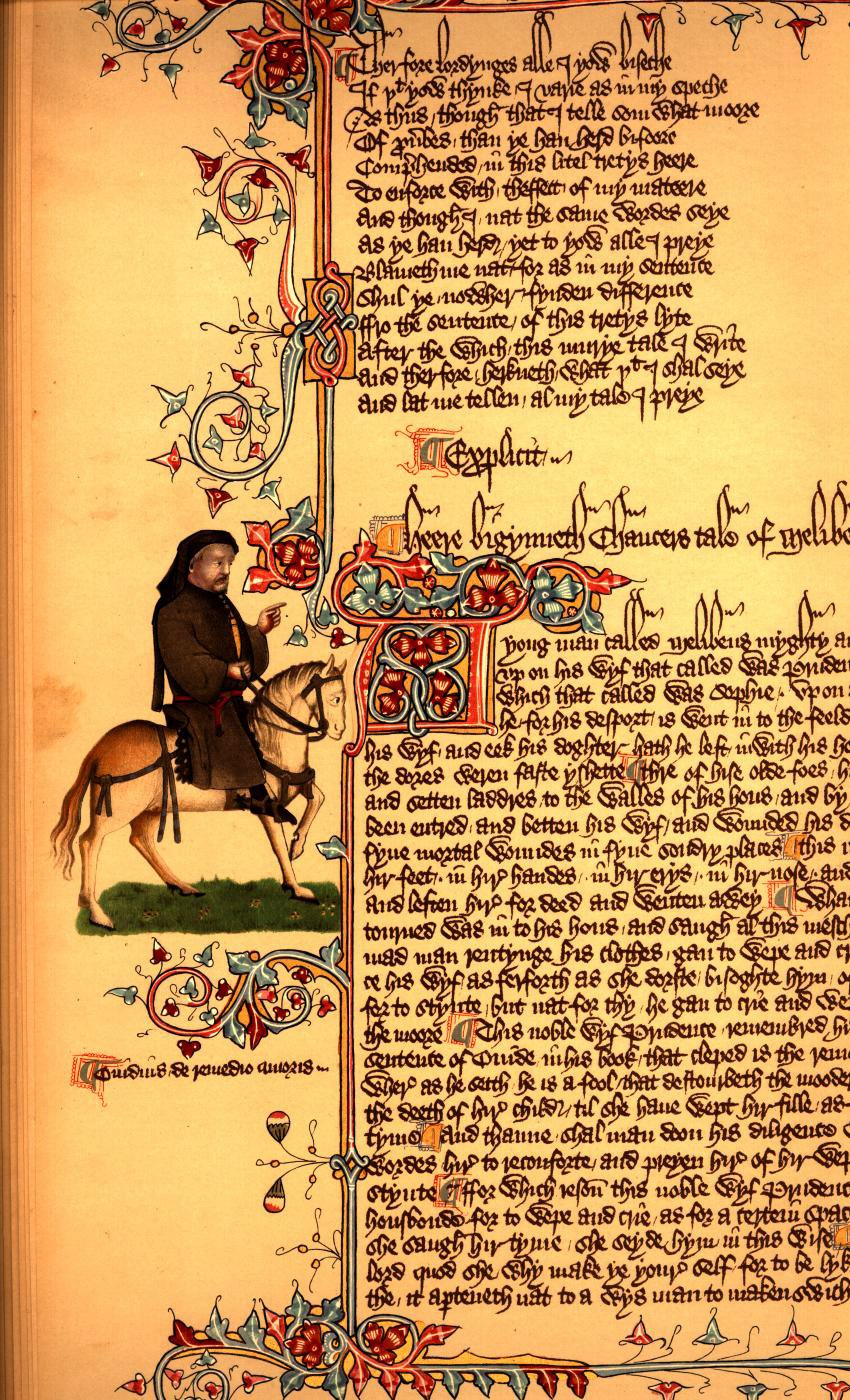 chaucer canterbury tales essay topics
